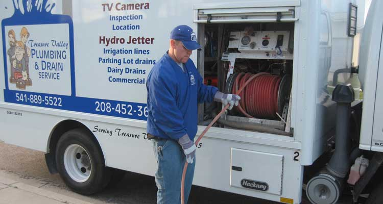 DRAIN CLEANING WITH THE SUPER JETTER