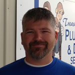 Eric Bullard, the newest member of Treasure Valley Plumbing & Drain Service