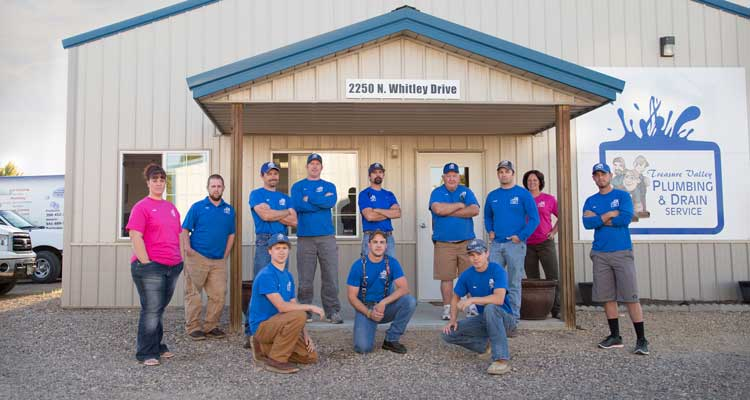 The Crew at Treasure Valley Plumbing and Drain Service